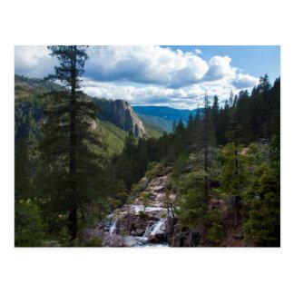 USA, California. Yosemite Valley Vista Postcard
