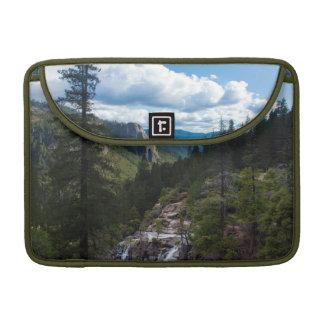 USA, California. Yosemite Valley Vista Sleeve For MacBooks