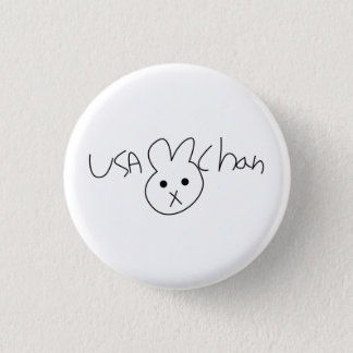 USA-CHAN Hetalia Button Badge