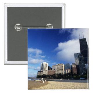 USA Chicago Illinois Oak Street Beach and Pins