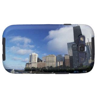 USA, Chicago, Illinois, Oak Street Beach and Galaxy SIII Covers