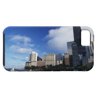 USA, Chicago, Illinois, Oak Street Beach and Tough iPhone 5 Case