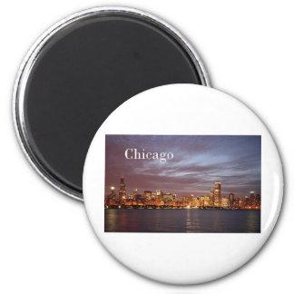 USA Chicago St.K) 6 Cm Round Magnet