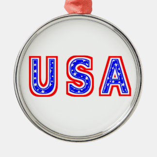 USA CHRISTMAS ORNAMENT