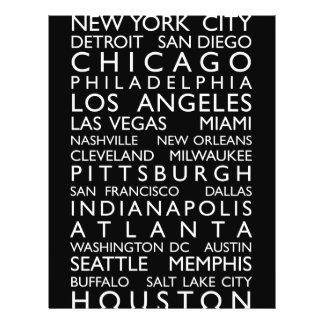 USA Cities Bus Roll Flyer Design