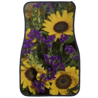 USA, close-up of bridal flower arrangement, Car Mat