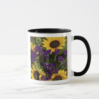 USA, close-up of bridal flower arrangement, Mug
