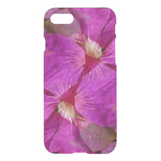USA, Colorado, Boulder. Clematis flower montage iPhone 8/7 Case
