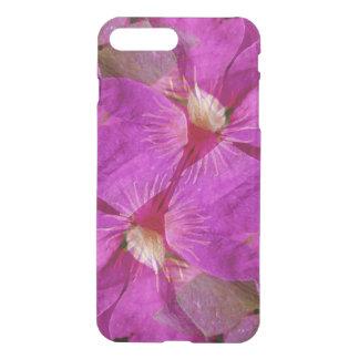 USA, Colorado, Boulder. Clematis flower montage iPhone 8 Plus/7 Plus Case