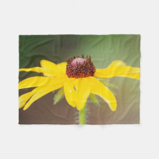 USA, Colorado, Boulder. Sunflower close-up Fleece Blanket