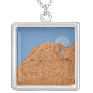 USA, Colorado, Colorado Springs, Garden of the Silver Plated Necklace