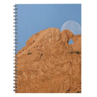 USA, Colorado, Colorado Springs, Garden of the Spiral Notebook