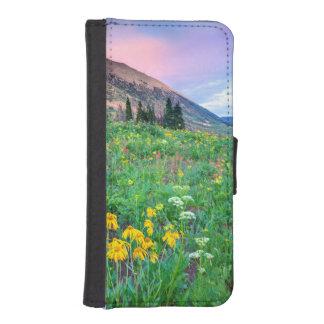 USA, Colorado, Crested Butte. Landscape 2 iPhone SE/5/5s Wallet Case