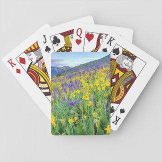 USA, Colorado, Crested Butte. Landscape Playing Cards