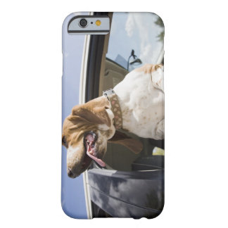 USA, Colorado, dog looking through car window 2 Barely There iPhone 6 Case