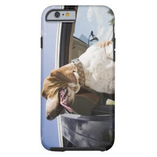 USA, Colorado, dog looking through car window 2 Tough iPhone 6 Case