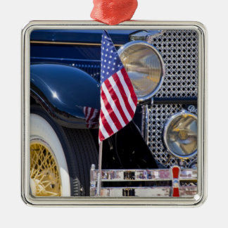 USA, Colorado, Frisco. Vintage Packard auto Christmas Ornament