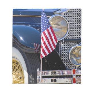 USA, Colorado, Frisco. Vintage Packard auto Notepad