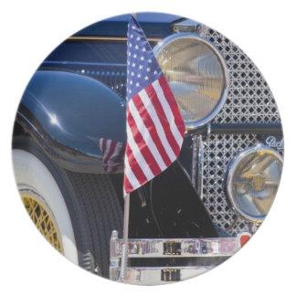 USA, Colorado, Frisco. Vintage Packard auto Plate