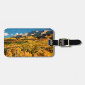 USA, Colorado, Gunnison National Forest Bag Tag