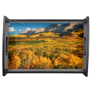 USA, Colorado, Gunnison National Forest Serving Tray