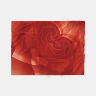 USA, Colorado, Lafayette. Red rose montage Fleece Blanket