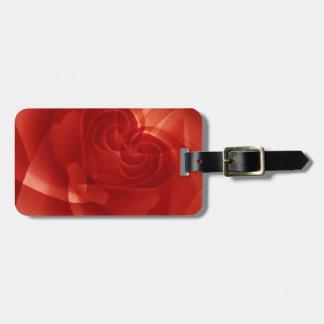 USA, Colorado, Lafayette. Red rose montage Luggage Tag