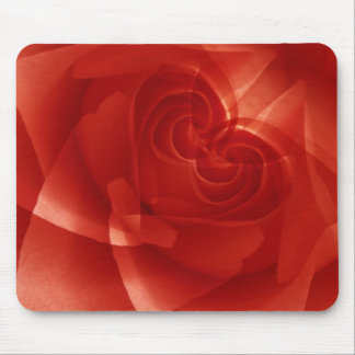 USA, Colorado, Lafayette. Red rose montage Mouse Mat