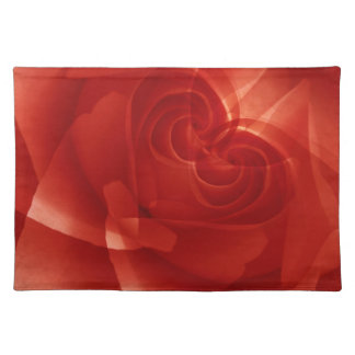 USA, Colorado, Lafayette. Red rose montage Placemat