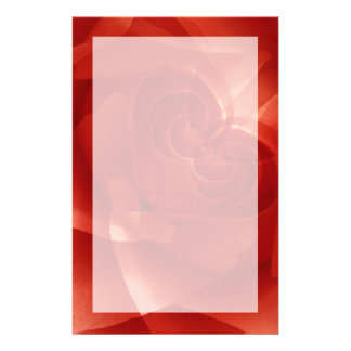 USA, Colorado, Lafayette. Red rose montage Stationery