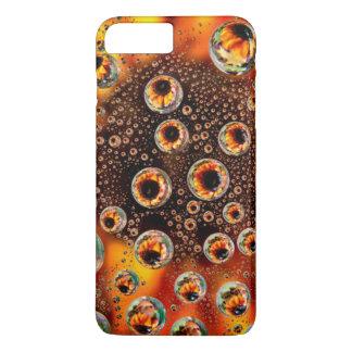 USA, Colorado, Lafayette. Water bubbles on glass 1 iPhone 8 Plus/7 Plus Case