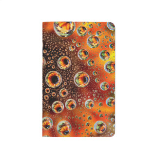 USA, Colorado, Lafayette. Water bubbles on glass 1 Journal
