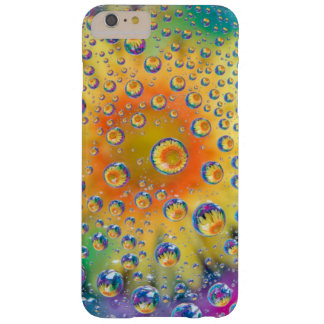 USA, Colorado, Lafayette. Water bubbles on glass 2 Barely There iPhone 6 Plus Case