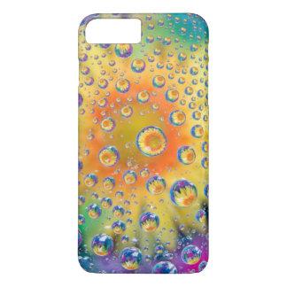 USA, Colorado, Lafayette. Water bubbles on glass 2 iPhone 8 Plus/7 Plus Case