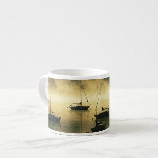 USA, Colorado, Lake Dillon.  The early morning Espresso Cup