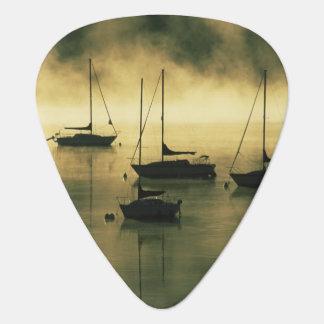 USA, Colorado, Lake Dillon.  The early morning Guitar Pick