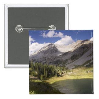 USA, Colorado, Lake Geneva 2 15 Cm Square Badge