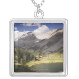 USA, Colorado, Lake Geneva 2 Silver Plated Necklace