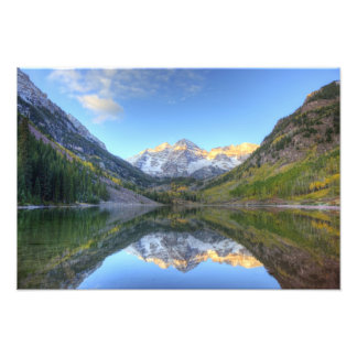 USA, Colorado, Maroon Bells-Snowmass Photographic Print