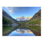 USA, Colorado, Maroon Bells-Snowmass Postcard