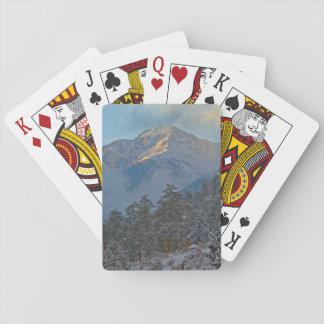 USA, Colorado, Mountains In Estes Park Playing Cards