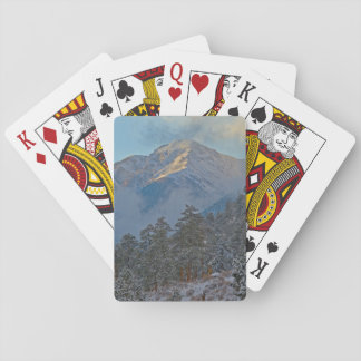USA, Colorado, Mountains In Estes Park Poker Deck