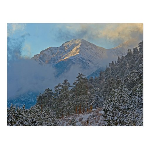 USA, Colorado, Mountains In Estes Park Post Cards