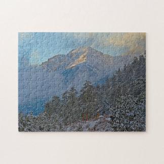 USA, Colorado, Mountains In Estes Park Jigsaw Puzzle