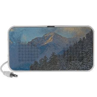 USA, Colorado, Mountains In Estes Park Notebook Speakers