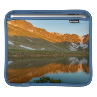 USA, Colorado, Mt. Evans. Summit Lake Reflection iPad Sleeve