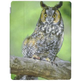 USA, Colorado. Portrait of long-eared owl iPad Cover