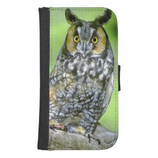 USA, Colorado. Portrait of long-eared owl Samsung S4 Wallet Case