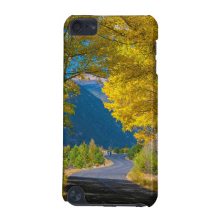 USA, Colorado. Road Flanked By Aspens iPod Touch (5th Generation) Case