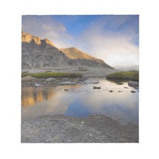 USA, Colorado, Rocky Mountain NP. Notepad
